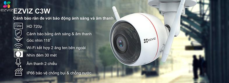 Nhứng tính năng nổi bật của Camera Ezviz C3W (EzGuard)